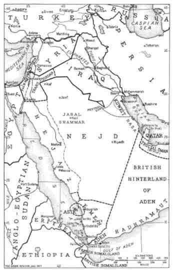 العراق في 1927. الصورة من