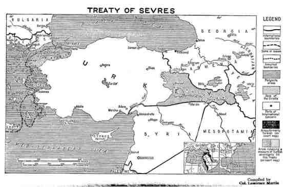 معاهدة سيڨر، 1920. الصورة من