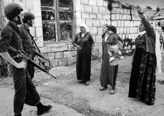 مخيّم جباليا، قطاع غزّة عام 1988