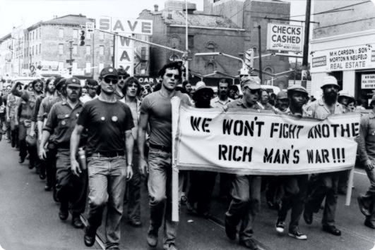 we-wont-fight-rich-mans-war-protest