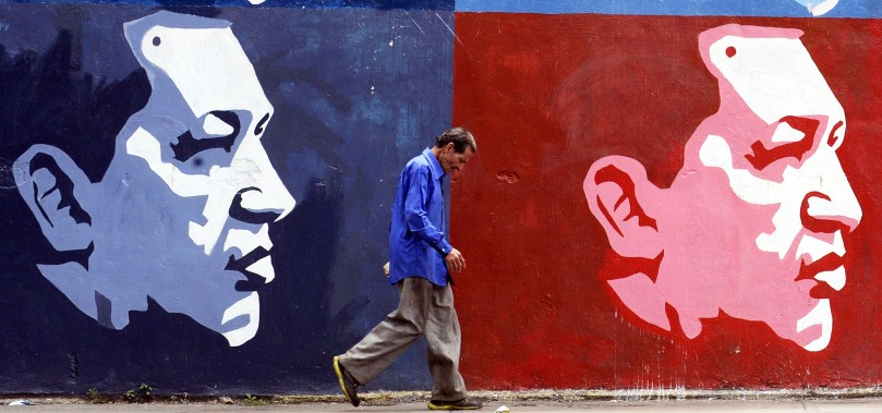 VENEZUELA-US-GRAFFITI-FEATURE